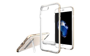 Spigen Crystal Hybrid pro iPhone 7+, champagne gold - 043CS20509
