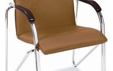 Kancelářská židle Samba světle hnědá