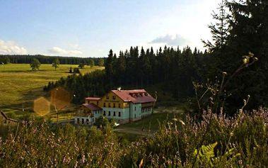 Jaro a léto v Krušných horách: snídaně, wellness