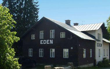 Penzion Eden v Harrachově s polopenzí