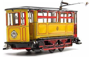 Retro tramvaj na klíček - dodání do 2 dnů