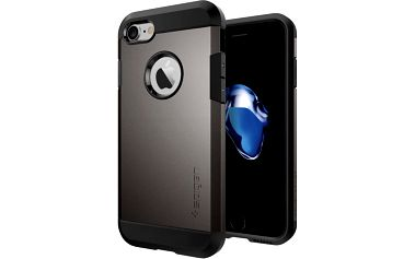 Spigen Tough Armor pro iPhone 7, gunmetal - 042CS20489