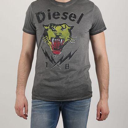 Tričko Diesel T-SONS MAGLIETTA XL Černá + DOPRAVA ZADARMO