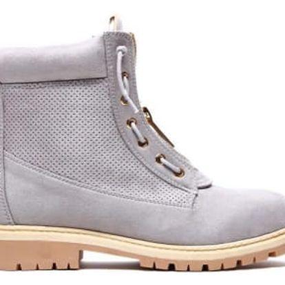 Dámské šedé kotníkové boty Bolivie 2051
