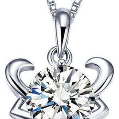 Elegantní náhrdelník s přívěsky ve tvaru znamení zvěrokruhu