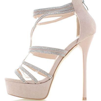 Béžové sandály Gutalla