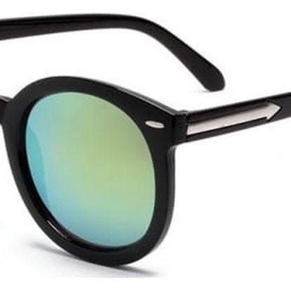 Módní dámské zrcadlové sluneční brýle - 12 barevných variant