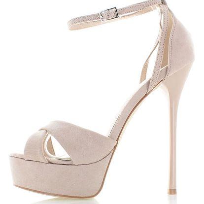 Béžové sandály Benatis