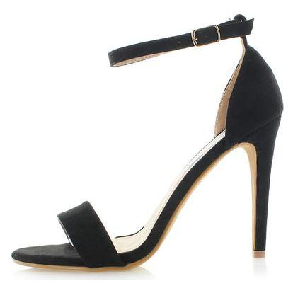 Černé sandály Refresh 63520