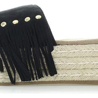 Černé pantofle Refresh 63487