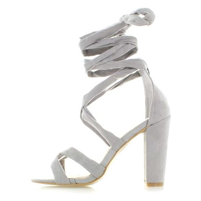 Šedé sandály Masaria