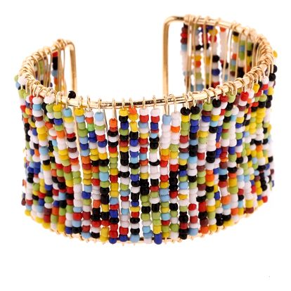 Fashion Icon Náramek drátěný s korálky