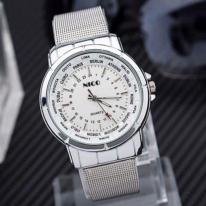 Náramkové hodinky s originálním ciferníkem