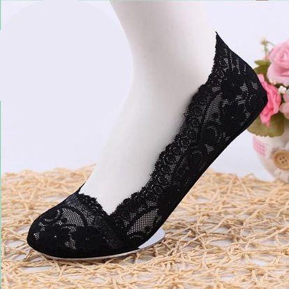 Krajkové ponožky do balerín