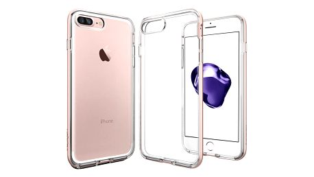 Spigen Neo Hybrid Crystal pro iPhone 7+, rose gold - 043CS20542