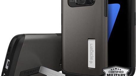 Spigen Slim Armor, gunmetal - Galaxy S7 - 555CS20012