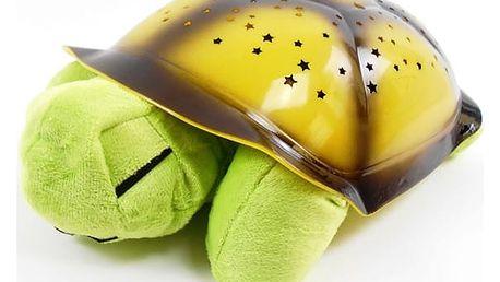 Svítící želva promítající 8 různých hvězdných map