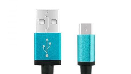 Pletený Micro USB kabel pro Android - různé barvy a délky