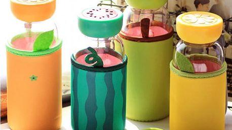 Kreativní láhev v designu ovoce - dodání do 2 dnů