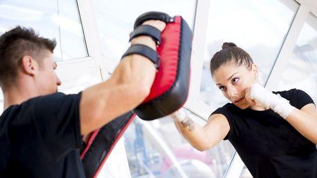 Dostaňte tělo do formy: lekce kickboxu