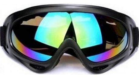 Cyklistické a motocyklové brýle - 4 varianty
