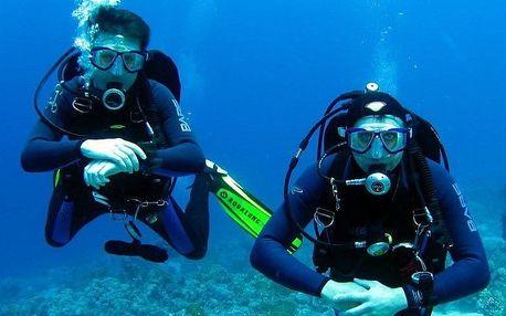 V. I. P. potápěčský kurz Open Water Diver