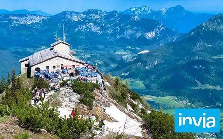Zájezd na Orlí hnízdo a k jezeru Königssee v jižním Bavorsku