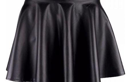 Dámská sukně z umělé kůže - 4 barvy