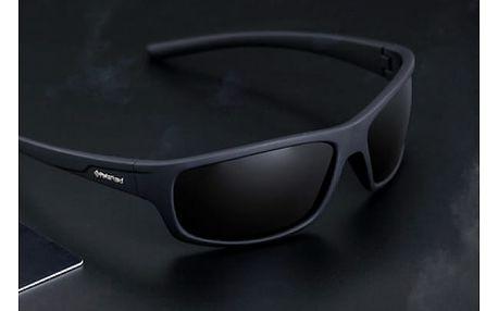 Módní polarizované pánské sluneční brýle s pouzdrem