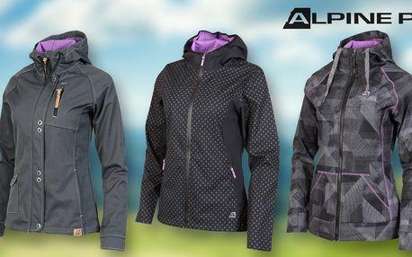 Dámské jarní softshellové bundy Alpine Pro