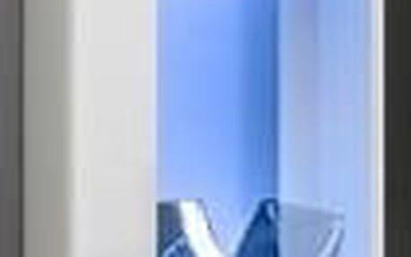 Vitrína SWITCH WW 2, bílá matná/bílý lesk