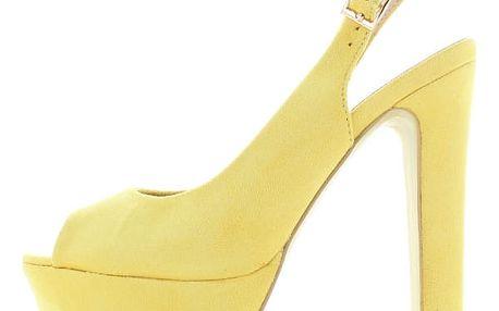 Žluté sandály Lufa