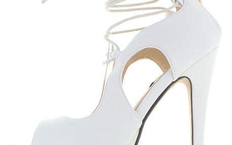 Bílé sandály Vacara