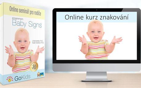 Online kurz znakování s miminky a batolaty