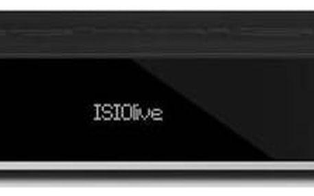 Satelitní přijímač Technisat TechniCorder ISIO STC (00004730) černý + Doprava zdarma