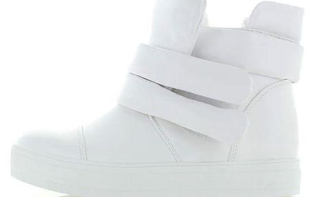 Bílé kotníkové tenisky Rastala