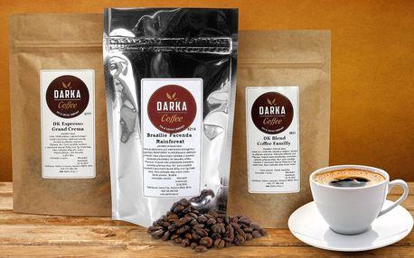Zrnková káva z Latinské Ameriky