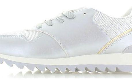 Stříbrné tenisky Amabara