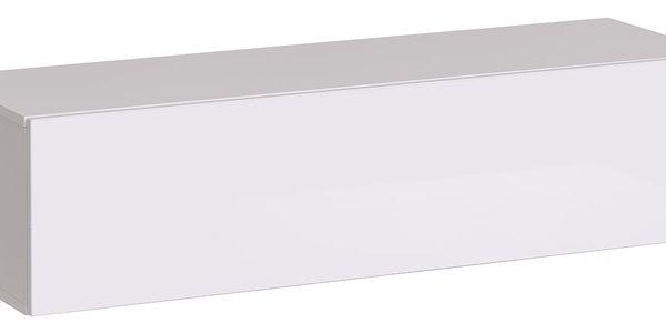 RTV stolek SWITCH RTV 2, bílá matná/bílý lesk