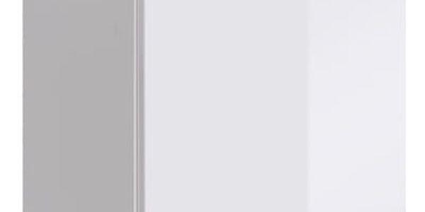 Vitrína SWITCH SW 2, bílá matná/bílý lesk