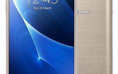 Samsung Galaxy J7 (2016) LTE, zlatá - SM-J710FZDNETL