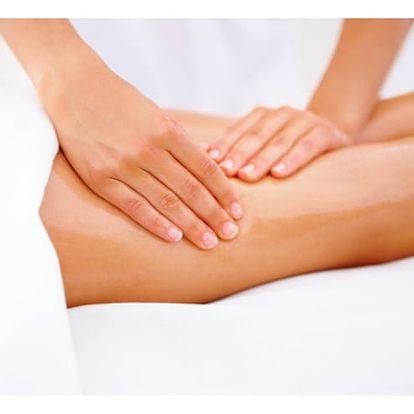 2hod.redukční balíček: ruční lymfatická masáž, zábal, prohřívání, měření tělesné kondice