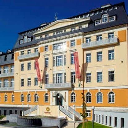 Františkovy Lázně - luxusní relaxační pobyt v 4 * hotelu s bazénem a neomezeným wellnessem