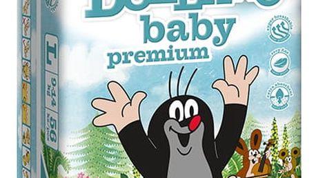 DOLLANO Baby Premium, velikost L, (9-14 kg) 56ks - jednorázové pleny
