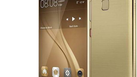 Huawei P9, Dual Sim, zlatá - SP-P9FDSGOM + Zdarma Powerbanka Huawei AP008Q 10000mAh v ceně 1399,-