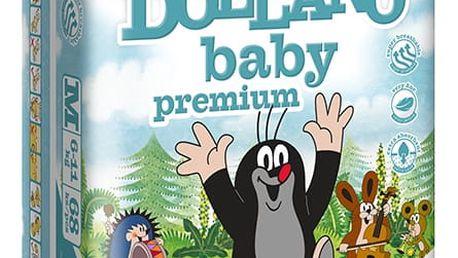 DOLLANO Baby Premium, velikost M, (6-11 kg) 68ks - jednorázové pleny