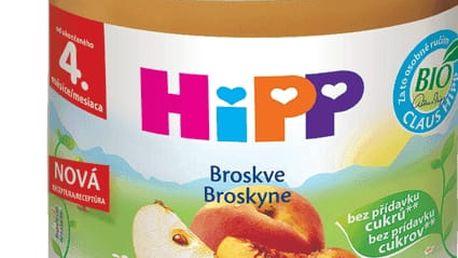 6x HIPP Broskvový (125 g) - ovocný příkrm