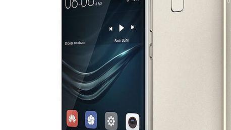 Huawei P9, Dual Sim, stříbrná - SP-P9FDSSOM + Zdarma Powerbanka Huawei AP008Q 10000mAh v ceně 1399,-