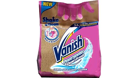 VANISH Clean&Fresh 650 g – prášek na koberce