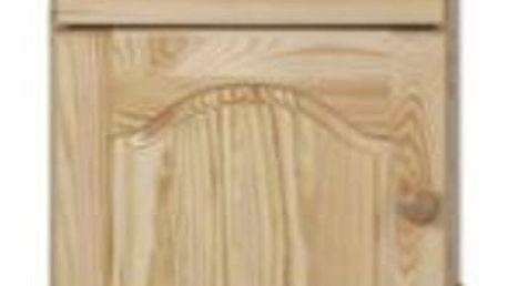 Noční stolek SN104 masiv borovice